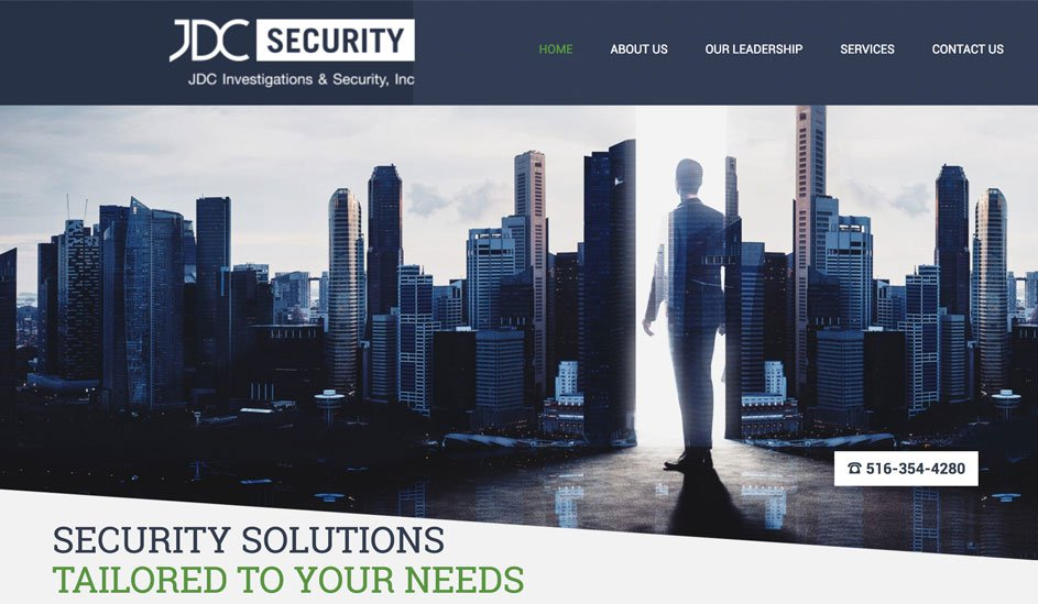 jdc security logo design page