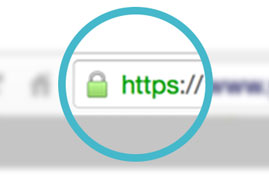 address line with https